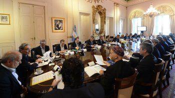 Reunión de urgencia en Casa Rosada
