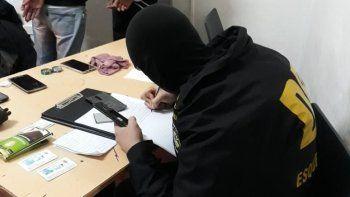 Los allanamientos que personal policial realizó en Esquel.