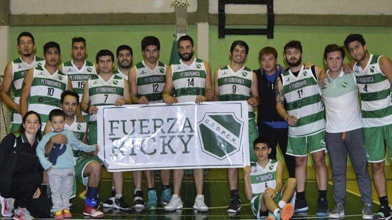 Todo Petroquímica y el ambiente del básquet local se solidariza con Ricardo Torres