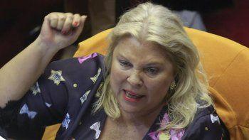 A Carrió le dan asco los dirigentes de Cambiemos que no sostienen a Macri