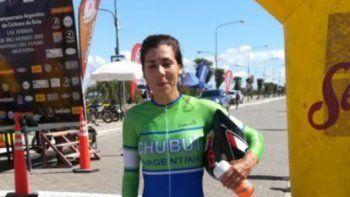 Fiorella Malaspina se consagró campeona argentina de ciclismo.