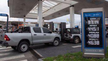 Aumentos de hasta un 6% en los combustibles