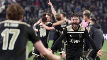 Ajax dio el primer paso para meterse en la final