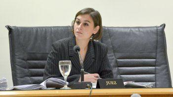 La jueza Daniela Arcuri presidió el tribunal unipersonal del juicio.