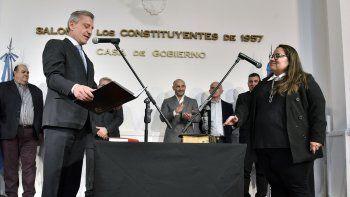 Gabriela Sánchez Galindo asumió como secretaria general de Gobierno.