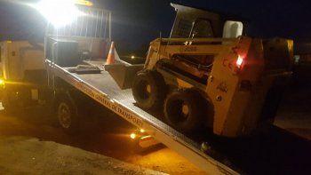 Recuperan una máquina vial que había sido robada el año pasado