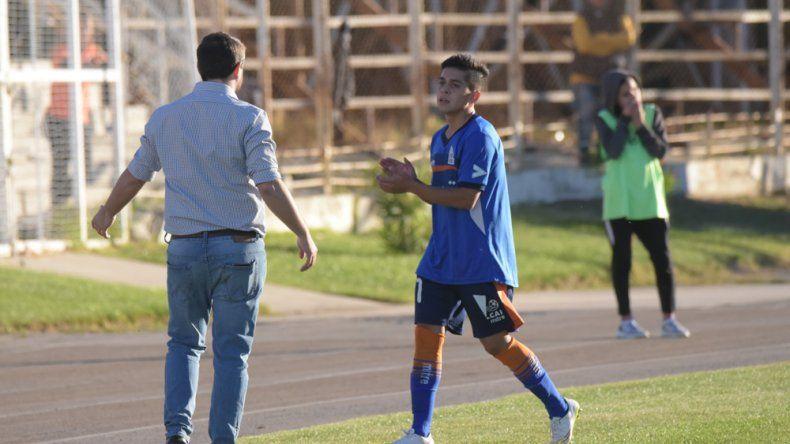 Matías Vargas aportó dos goles y reconoció que deberán estar tranquilos y aprovechar los espacios en Puerto Madryn.