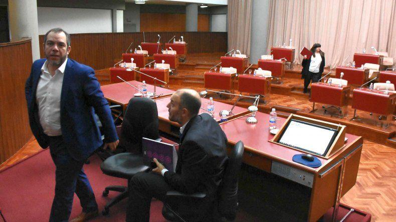 No hubo quórum en la sesión de la Legislatura