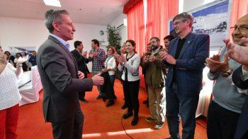 Para Arcioni la concesión de La Hoya marca un día histórico para Chubut