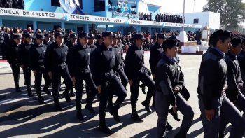 Catamarca: no permitirán el ascenso de policías con tatuajes de más de 10 centímetros