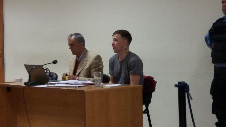 Jonathan Myburgh está imputado por el homicidio cometido en noviembre de 2017.