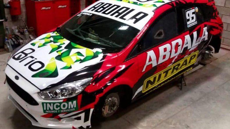 Manu Abdala tiene el Ford  Focus listo para Neuquén