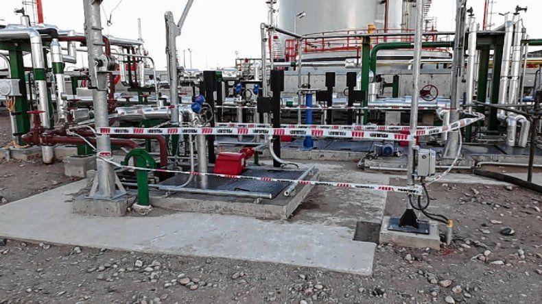 Las cámaras no registraron cuando los petroleros cayeron a la pileta