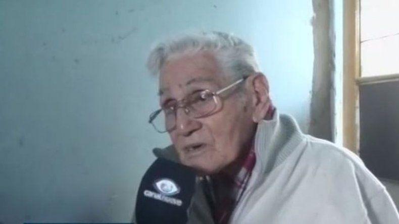 Le robaron a un abuelo de 94 años en pleno centro