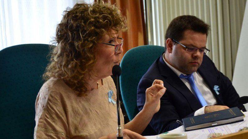 La diputada de Encuentro Ciudadano