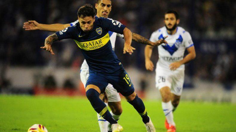 Boca y Vélez empataron en el regreso de Zárate a Liniers