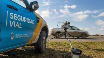 Se implementarán las fotomultas por exceso de velocidad en Chubut