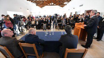 Arcioni: vamos a defender la Provincia esté quien esté en el Gobierno Nacional