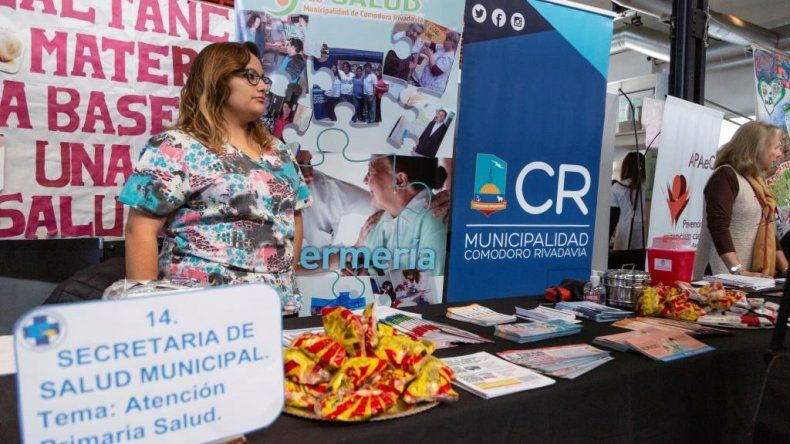 Se realizó  la 1º Feria de Salud Integradora