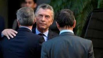 El Presidente Macri asistió al velatorio de Héctor Olivares