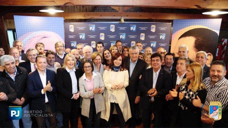 Cristina Fernández participará de la cumbre del PJ
