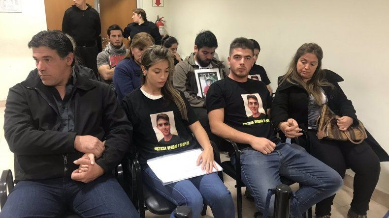 Audiencia de apertura de investigación por el homicidio de Brian Gómez