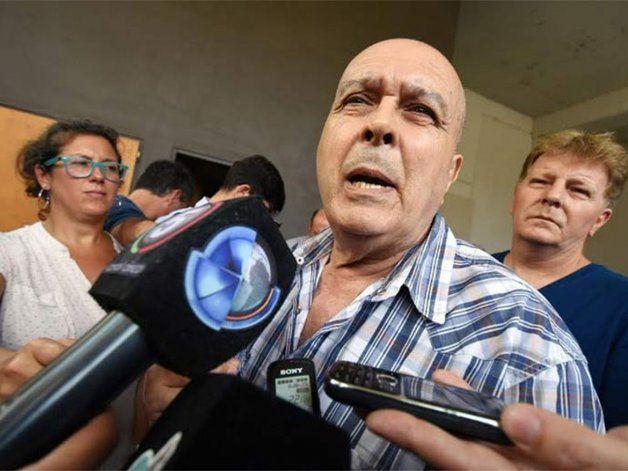 Secretario general de la Unión Tranviarios Automotor (UTA) de Rosario, Manuel Cornejo.