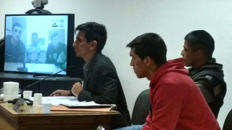 La audiencia en la que ayer comparecieron los imputados.