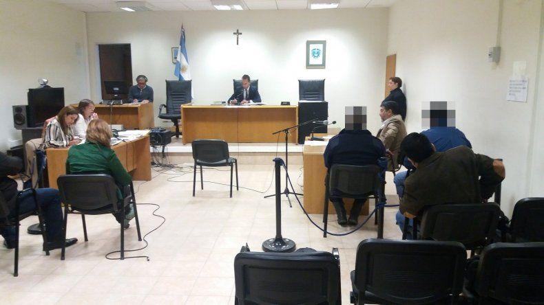 La audiencia para formalizar la apertura de la investigación.