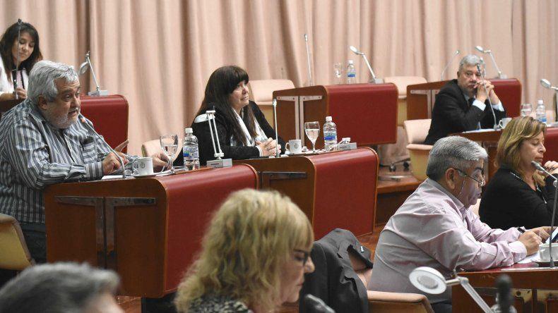 La oposición logró quórum para sesionar ayer en la Legislatura.