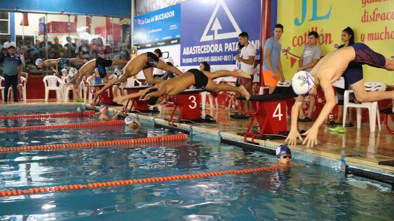 Huergo volvió a cumplir un excelente papel por el calendario provincial de natación que se llevó a cabo el fin de semana en Puerto Madryn.