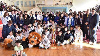 El taekwondo tuvo su punto de encuentro y competencia el domingo en el municipal 1.