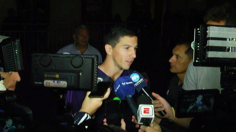 Ignacio Fernández aseguró que le encantaría ser socio de Messi en la selección argentina.