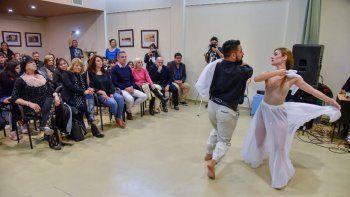 En Camarones se realizó ayer la presentación del programa Itinerarte de Cultura.