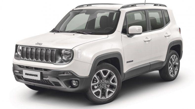 Jeep Renegade:  Cambios en la gama del SUV