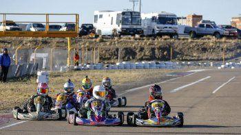 El kárting correrá esta tarde una competencia especial ya que será con pilotos invitados.