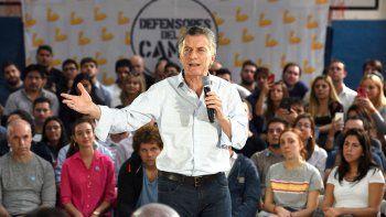 El momento incómodo de Macri en Salta