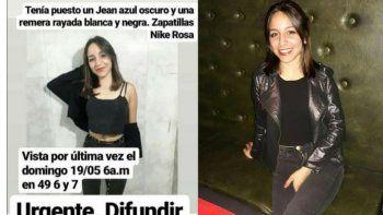 Desapareció una joven de Rawson que estudia en La Plata
