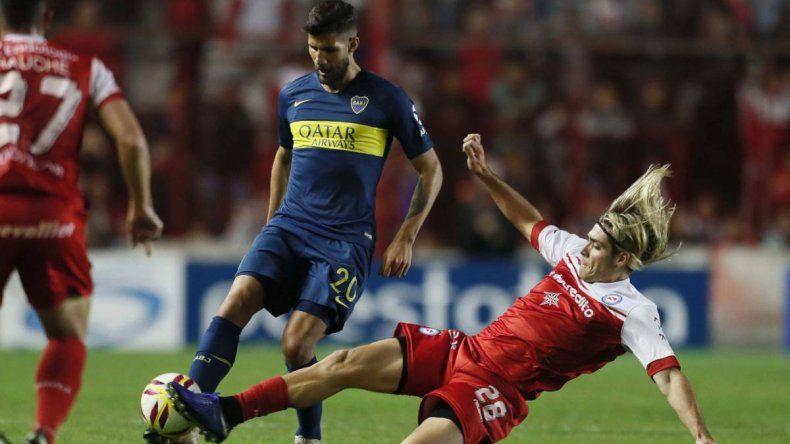 Argentinos y Boca empataron en la primera semifinal