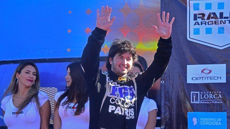 Miguel Baldoni es el puntero que tiene el campeonato de Argentino de Rally en la clase mayor.