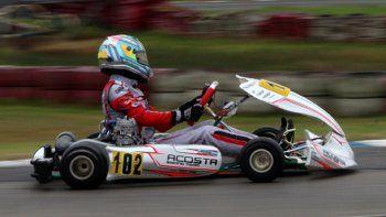 El radatilense Ignacio Montenegro tuvo un fin de semana soñado en el kartódromo de Ciudad Evita.