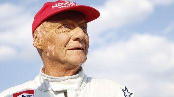 murio niki lauda, historico campeon de formula 1