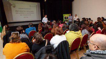El Encuentro Regional de Licencia Nacional de Conducir se desarrolló en el Centro Cultural de Rada Tilly.