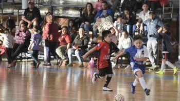 Los más chicos también tuvieron acción el último fin de semana por el torneo Apertura.