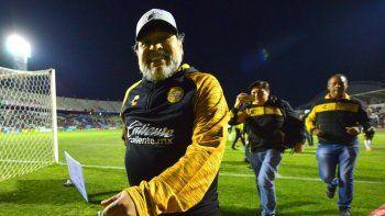 Maradona festejó la candidatura de Alberto Fernández en las redes