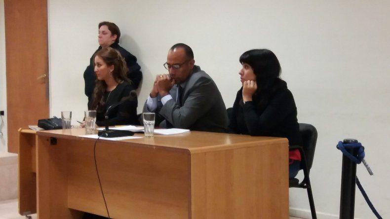 La audiencia en la que se ratificó la continuidad de la prisión preventiva de Brenda Vargas.