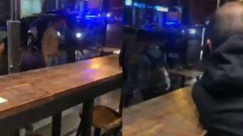 Denuncian violencia policial en desalojo de Antares: mirá el video