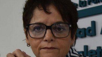 Patricia Sampaoli, responsable de área Patrimonio Cultural Regional de la UNPA.