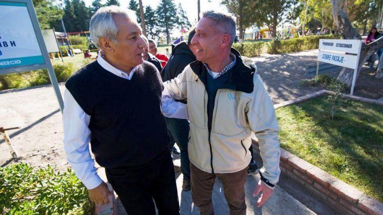 Arcioni destaca labor del Sindicato de Comercio