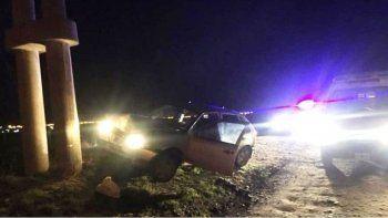 Un niño de 12 años protagonizó un accidente automovilístico